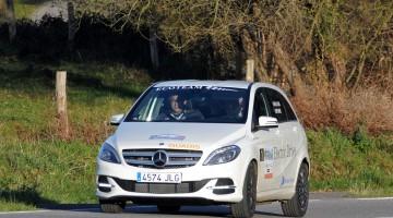 El Quadis Mercedes EcoTeam, en el Eco Rallye Vasco-Navarro FIA